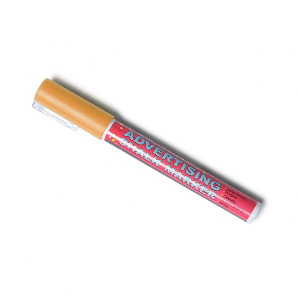 Chalk marker - Thin - Orange