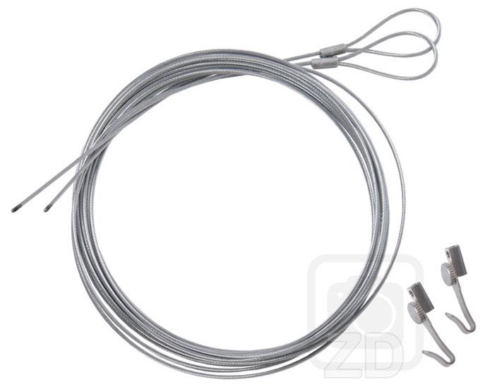 Hanging wires for poster hangers, height adjustable hanging hook.